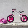 Training bike pink flowers