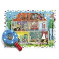 Puzzle baby detective 108pz my home