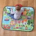 Musical city playmat