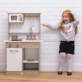Cocina de madera wooden veneer play kitchen